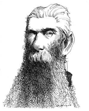David Levine, Herman Melville